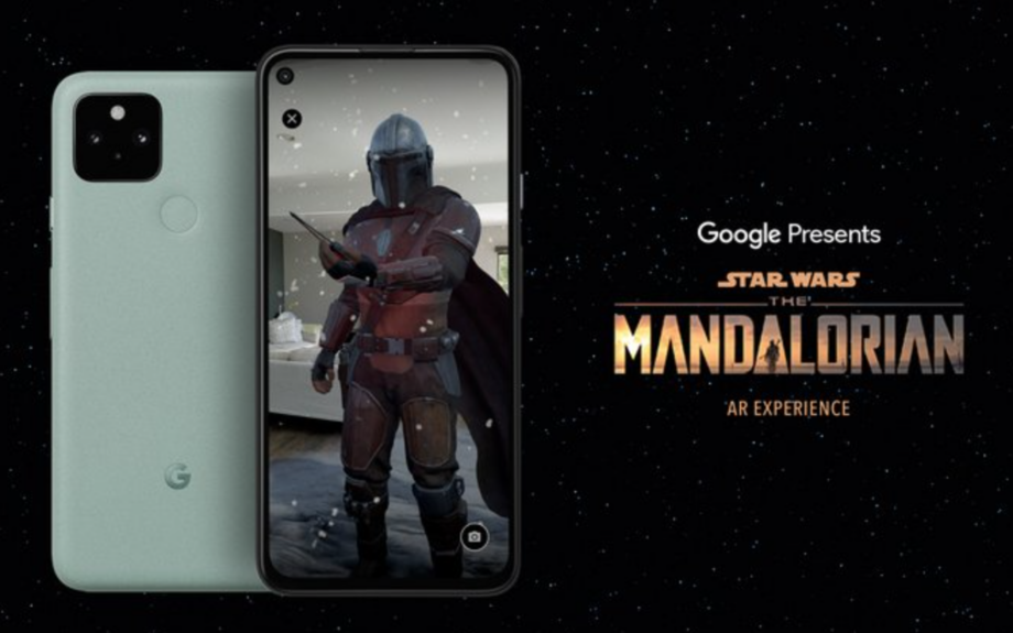 The Mandalorian AR app