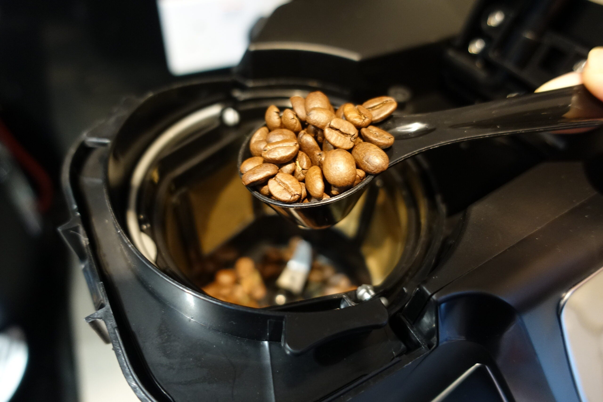 Russell Hobbs Grind and Brew beans