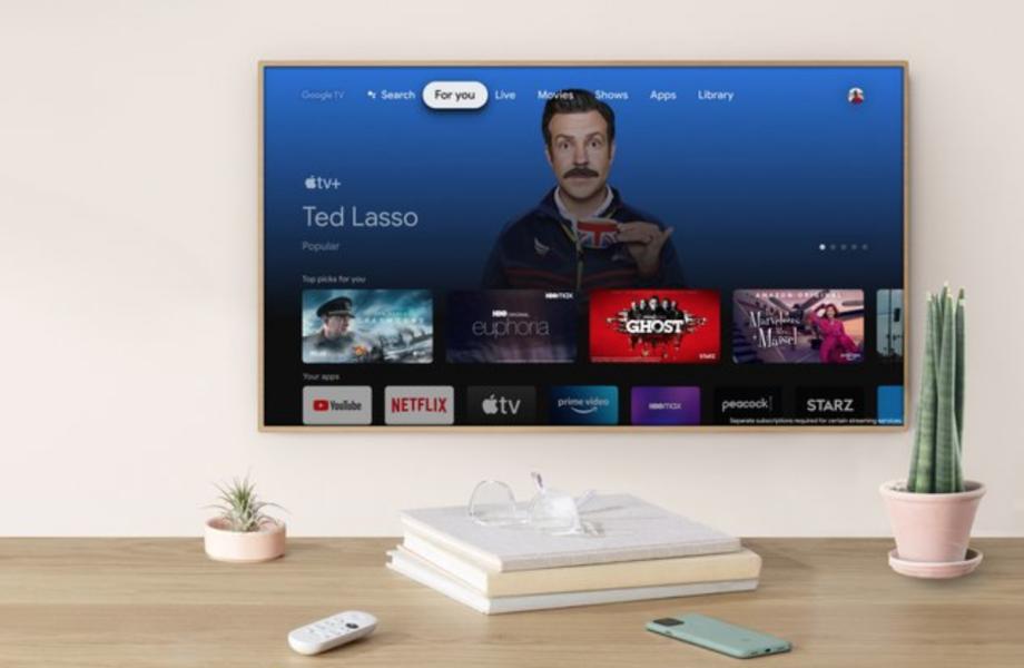 Google TV With Chromecast Apple TV