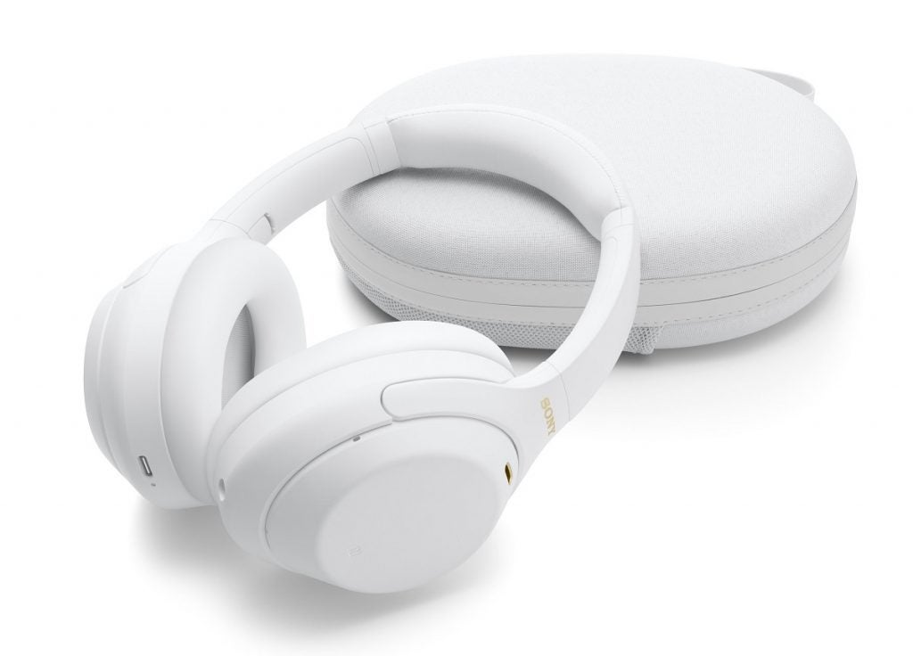 Sony WH-1000XM4 in Silver White