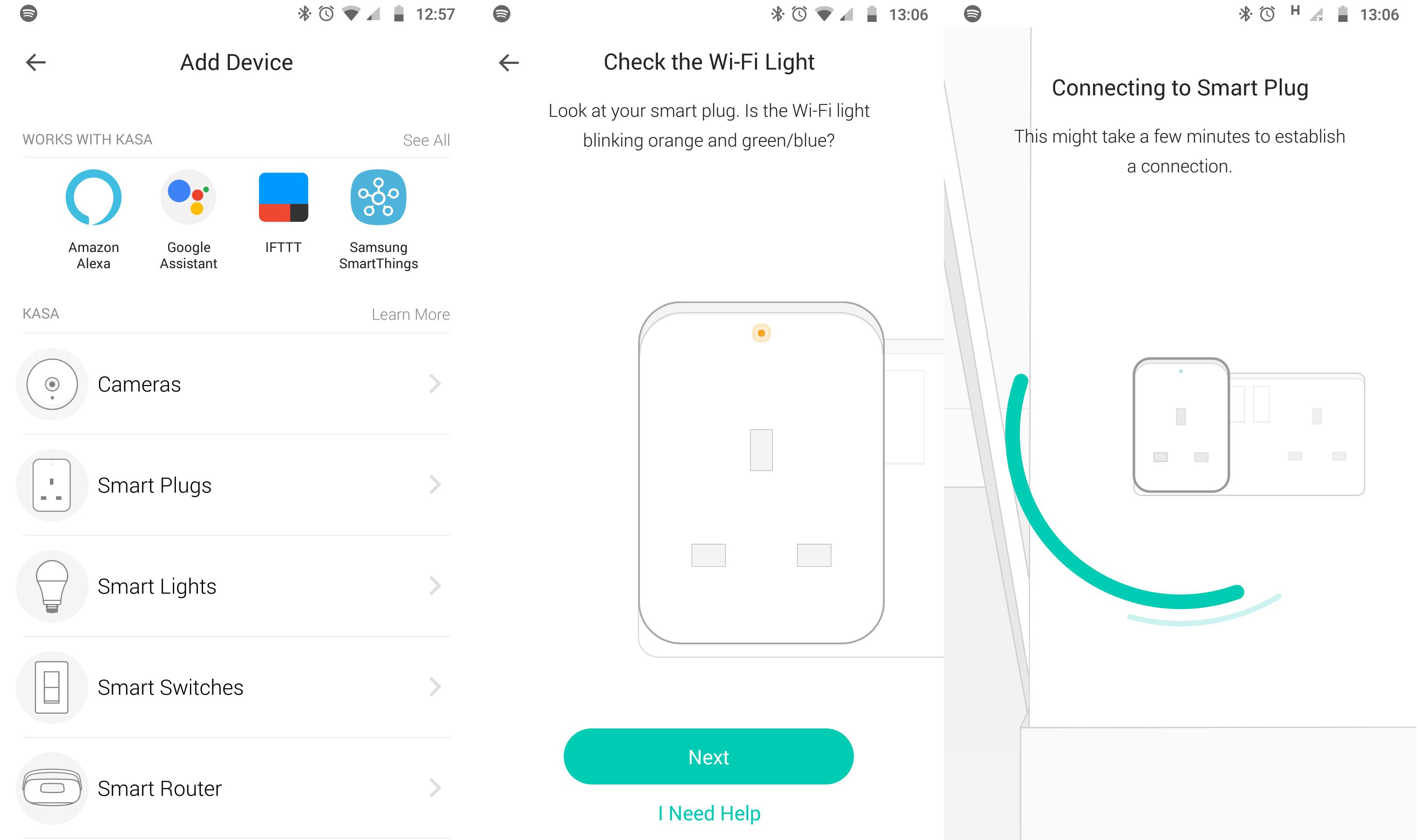 TP-Link Kasa KP105 Smart Wi-Fi Plug app