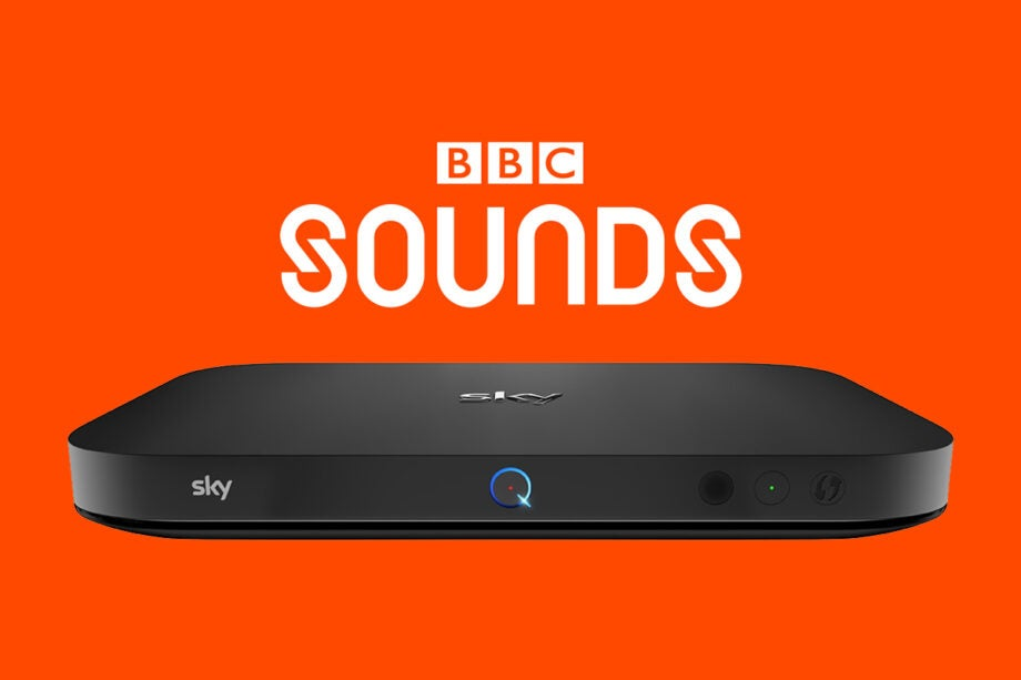 BBC sounds and Sky Q