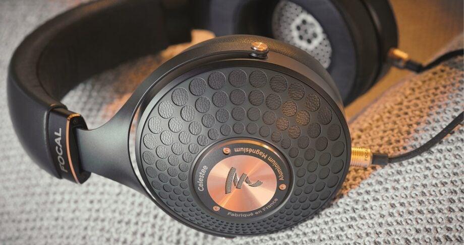 Lifestyle image of Focal Celestee headphones
