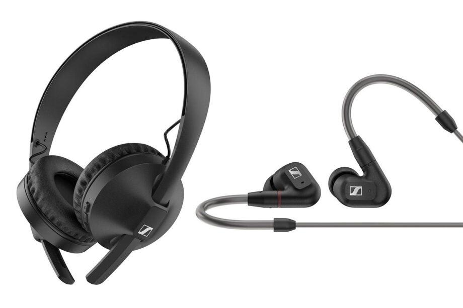 Sennheiser HD 250BT and IE 300 headphones