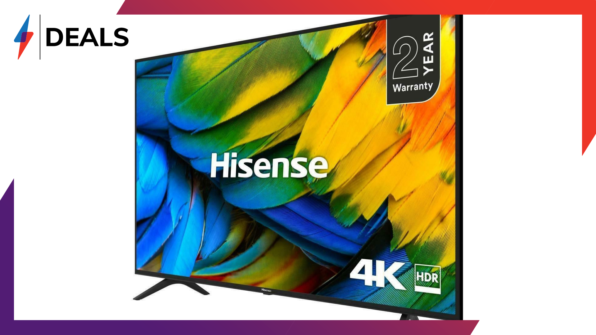"Get a 55"" Hisense 4K TV for just £314.10 with this phenomenal deal"