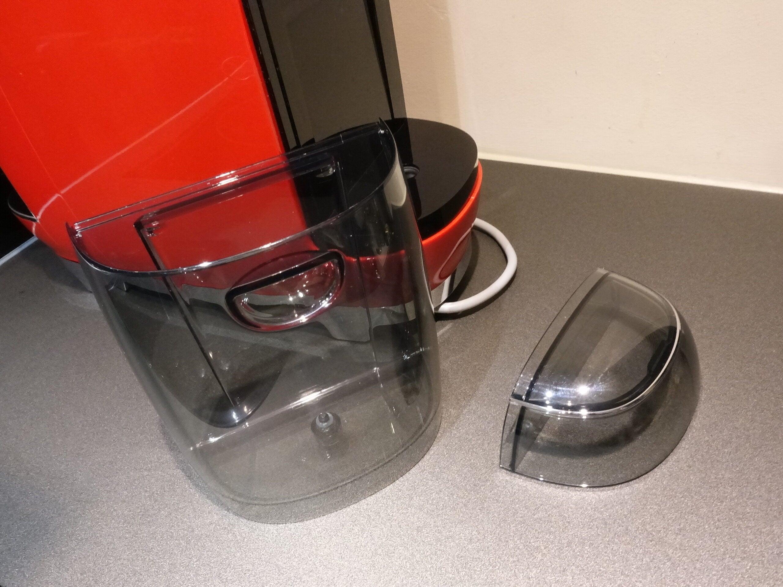 Lavazza A Modo Mio Smeg empty water tank