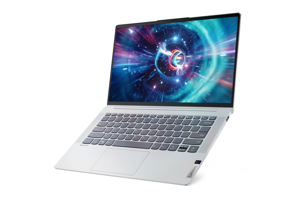 The Lenovo IdeaPad 5G supports 5G cellular connectivity when equipped with a relavent SIM card