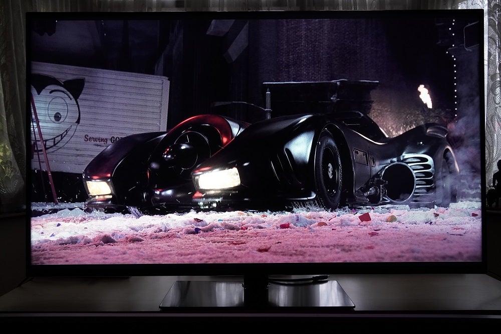 Panasonic HX600 black levels