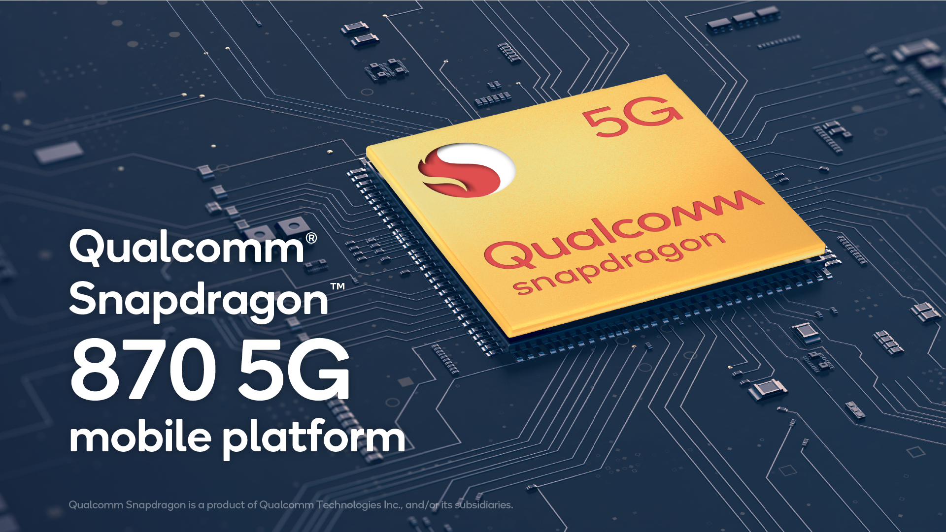 The Snapdragon 870 5G is an updated Snapdragon 865 for 2021