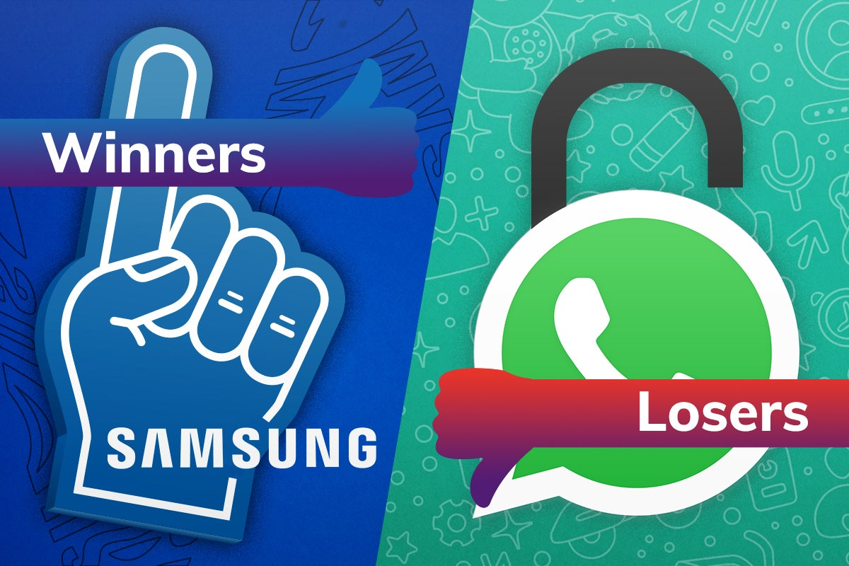 Image of article 'Winners and Losers: Samsung drops a surprise while Whatsapp delivers an ultimatum'