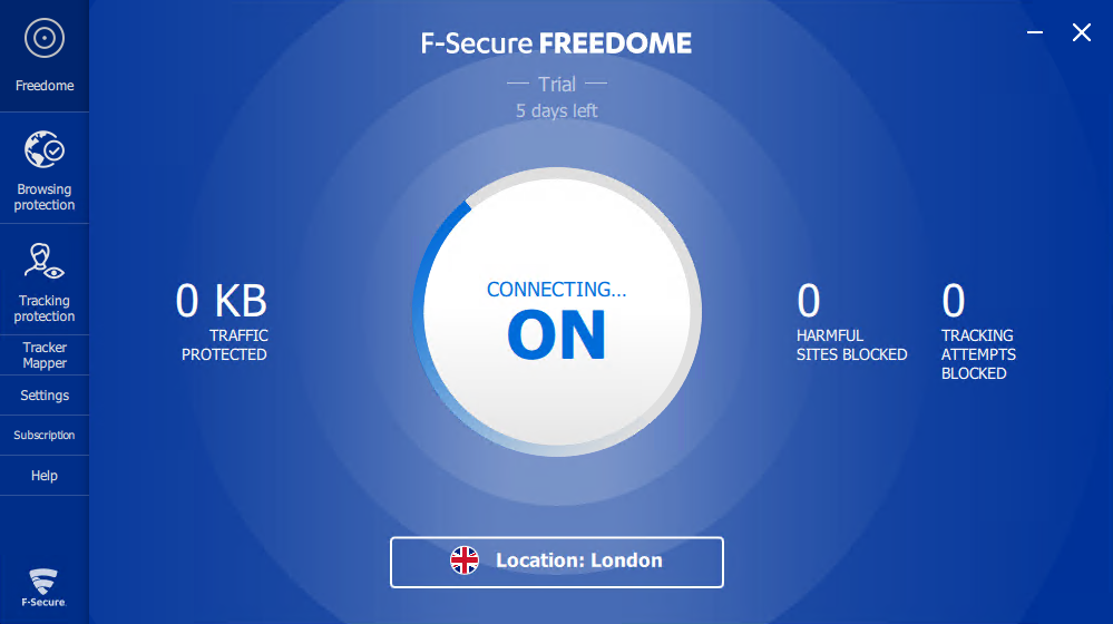 F-Secure Freedome client