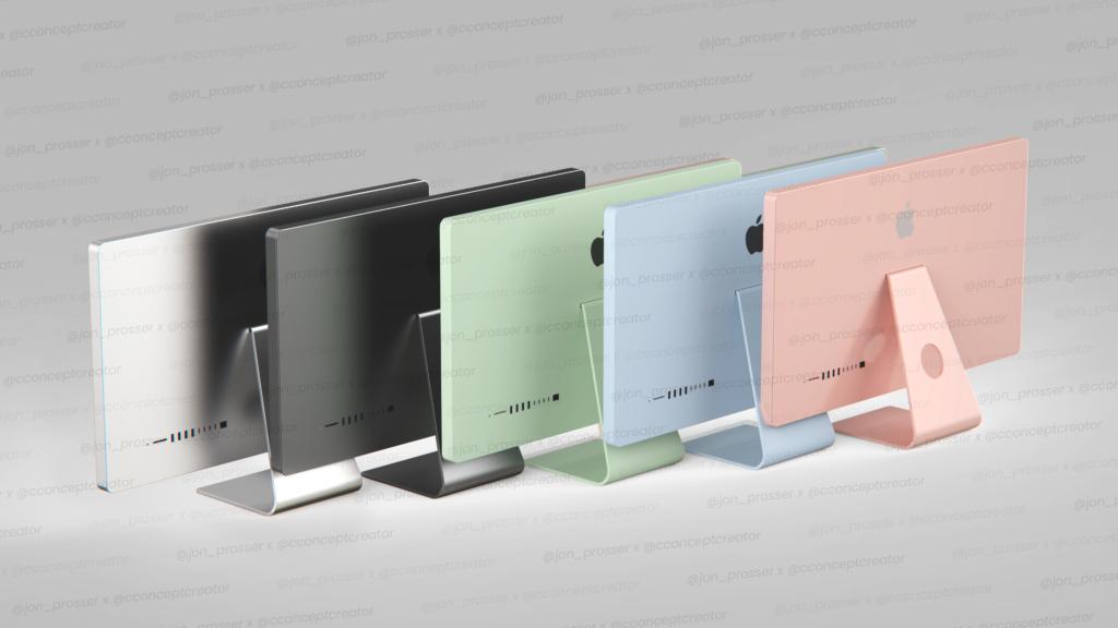 iMac 2021 colours
