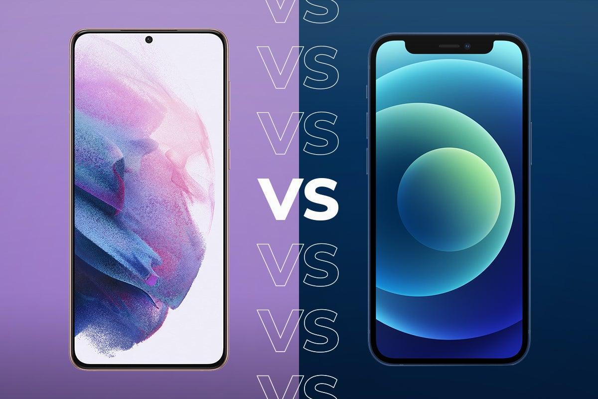 Samsung Galaxy S21 vs iPhone 12: Comparing the big specs - TrustedReviews