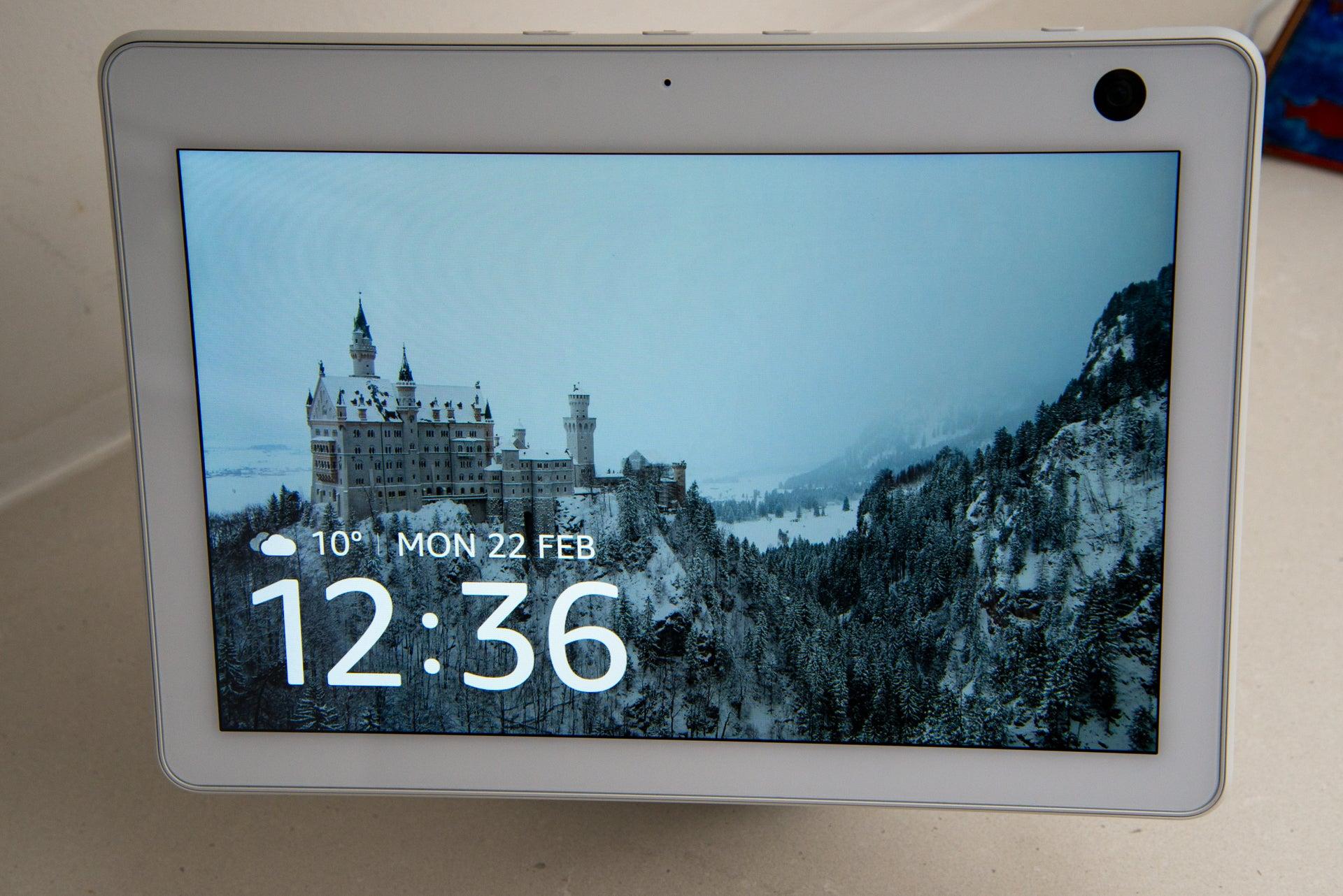 Amazon Echo Show 10 (3rd Generation) home screen