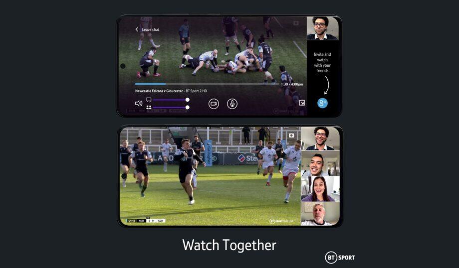 BT Sport Watch Together header