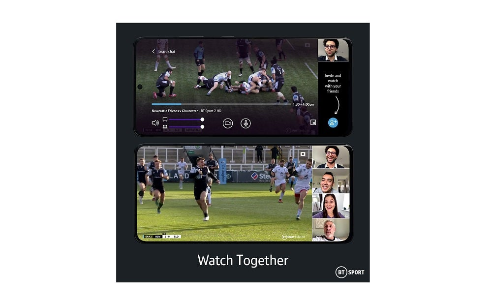 Watch Together feature on BT Sport app