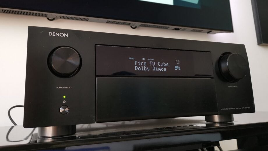 Denon AVC-X4700H in action