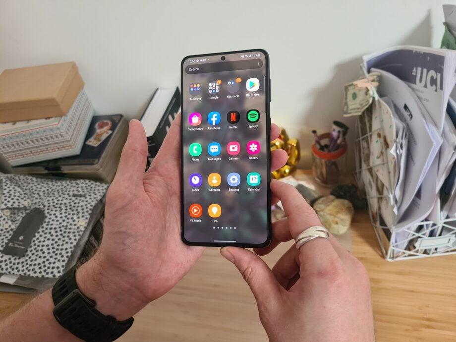 Galaxy S21 Plus apps