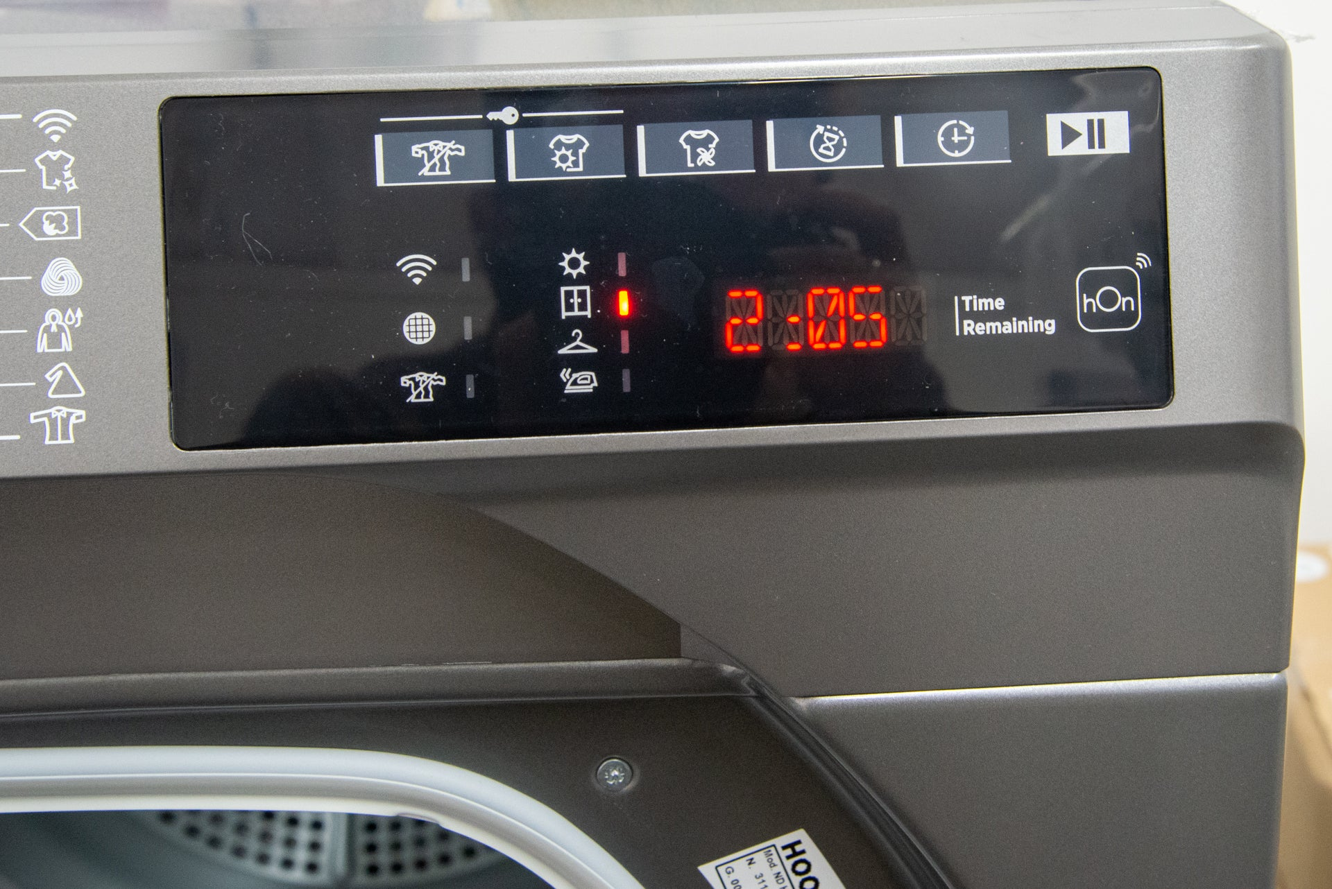 Hoover H-DRY 500 ND H10A2TCBER-80 LCD