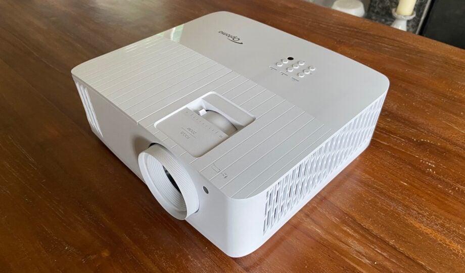 The Optoma UHD38 projector main image