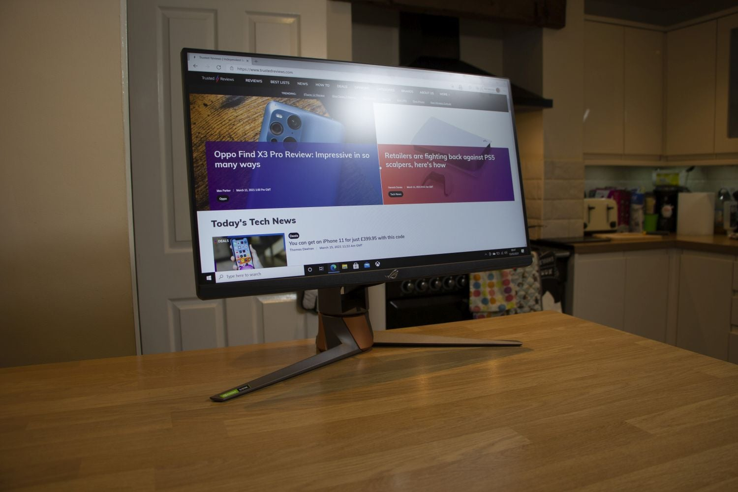 Asus ROG Swift PG259QNR Review | Trusted Reviews