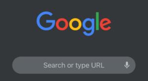 حالت تاریک Chrome