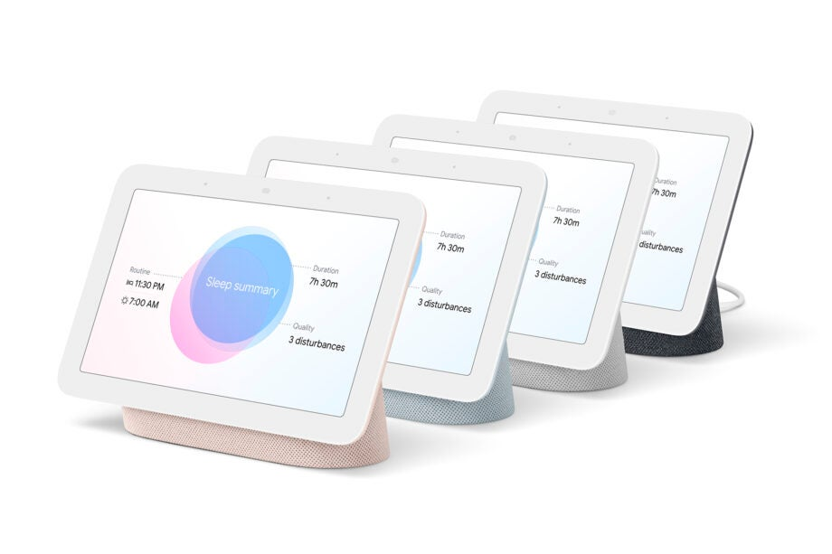 Google Nest Hub Second Generation All Colours