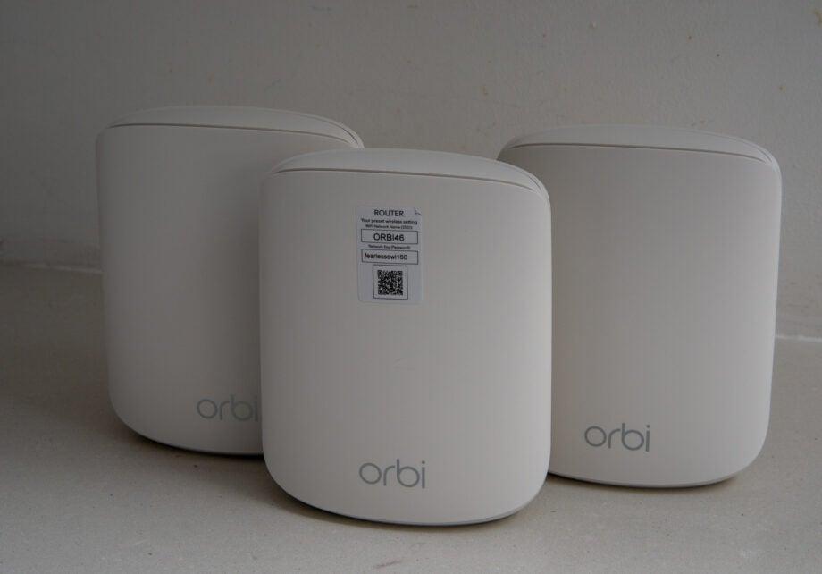 Netgear Orbi WiFi 6 Dual-band Mesh System (RBK353) hero