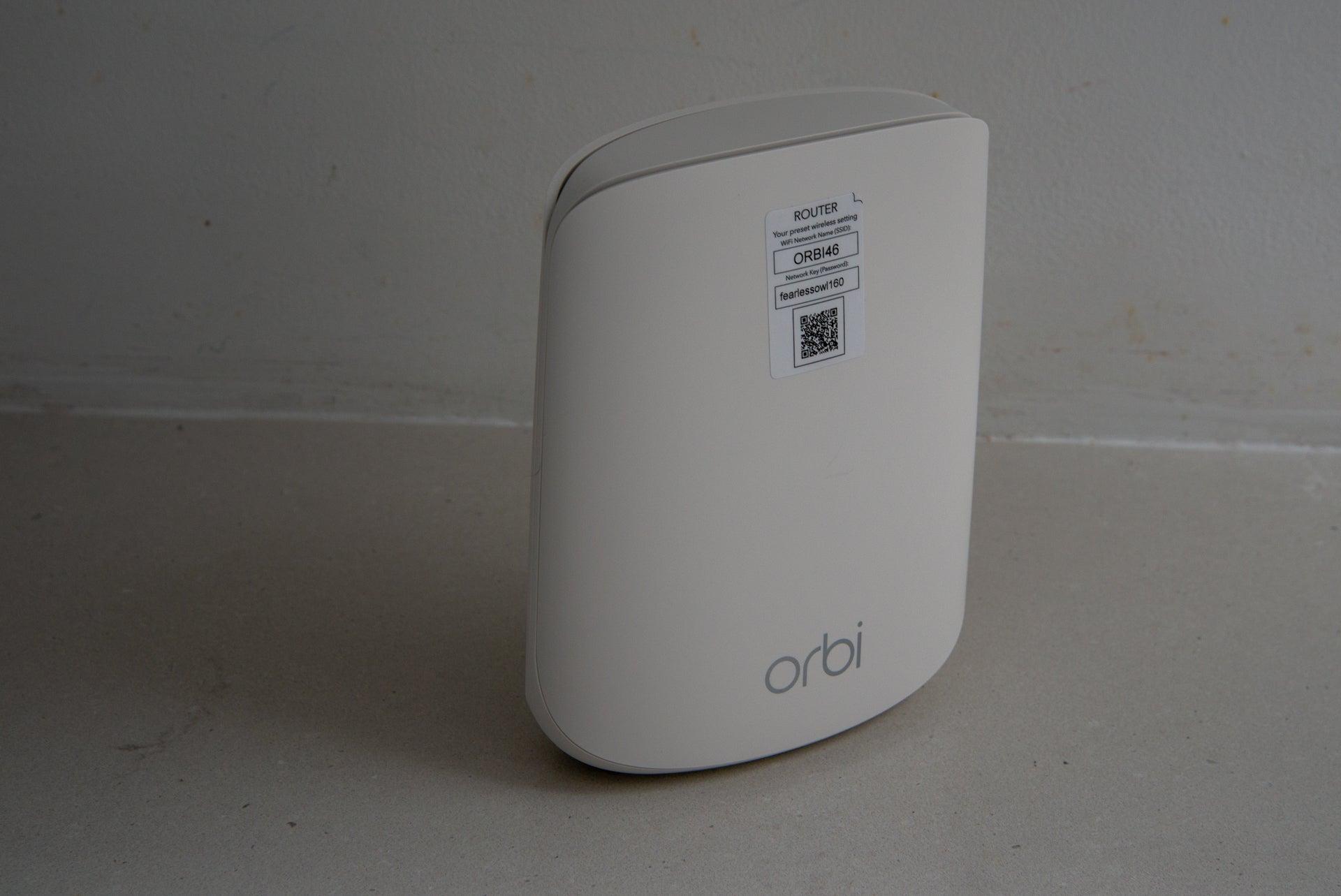 Netgear Orbi WiFi 6 Dual-band Mesh System (RBK353) router