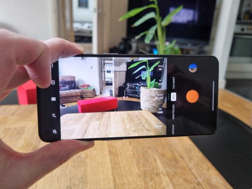 Aplicación de cámara OnePlus 9