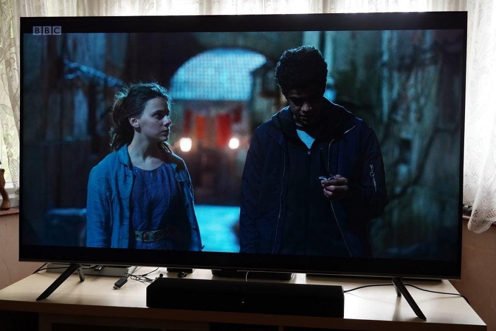 His Dark Materials on the Samsung Q65T / Q60T TV