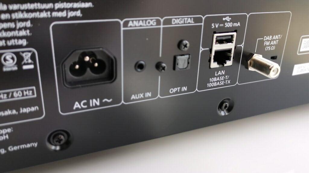 rear connections for the Technics Ottava SC-C70Mk2