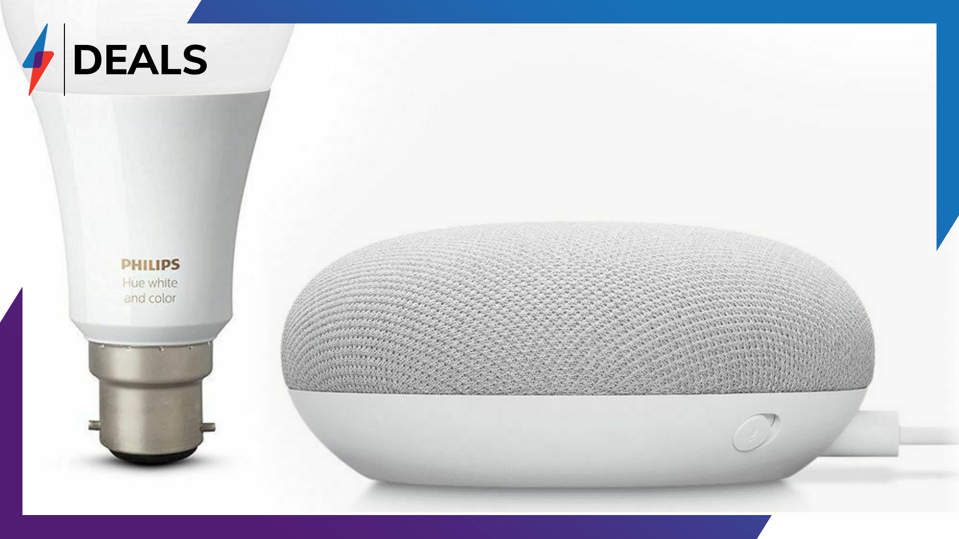 This Nest Mini and Philips Hue deal is the perfect smart home bundle