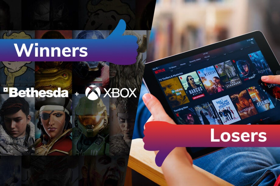 Winners and Losers Xbox Bethesda Netflix Password Sharing