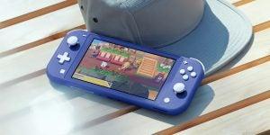 Nintendo Switch Lite in blue
