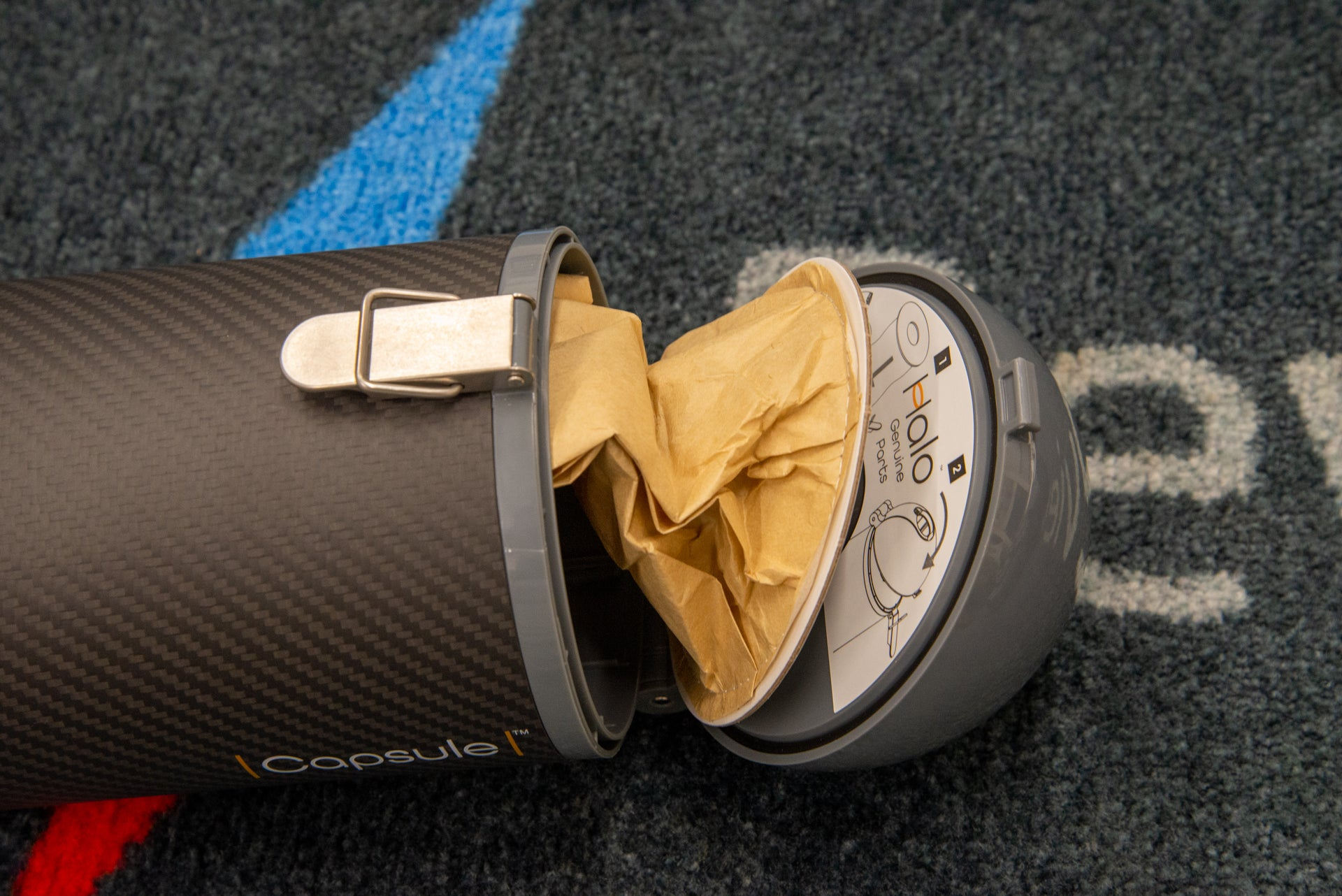 Halo Capsule dust pouch