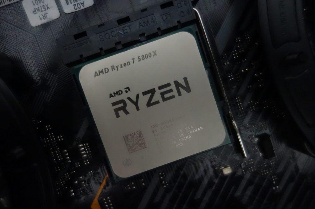 Best Gaming CPU - AMD Ryzen 7 5800X