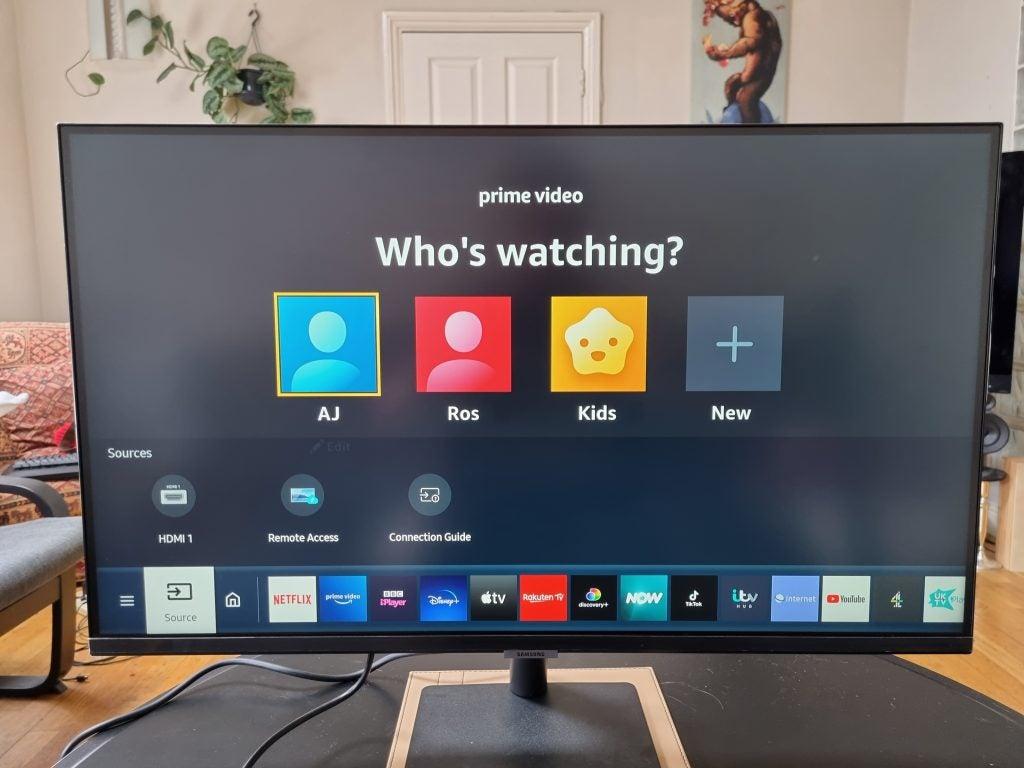 Samsung Smart Monitor Tizen