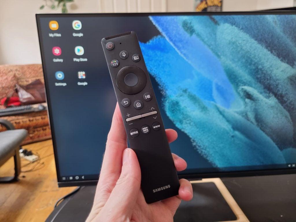 Samsung Smart Monitor remote