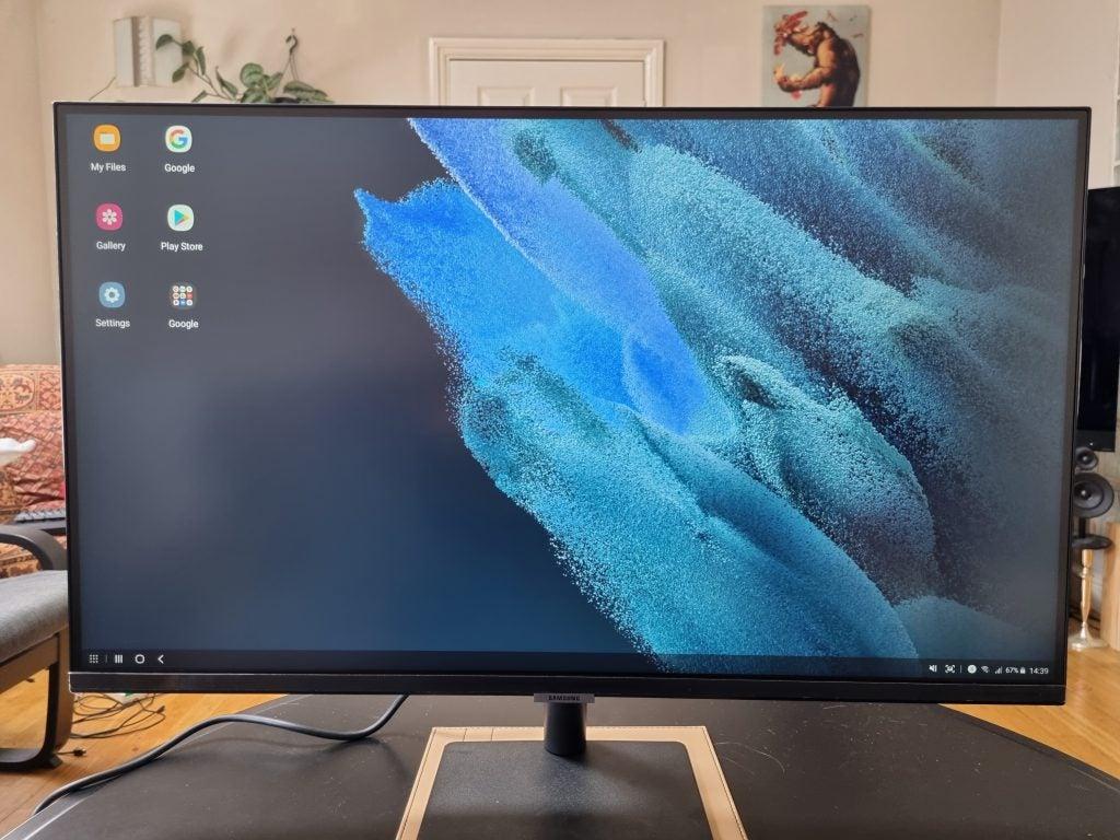Samsung Smart Monitor setup Dex