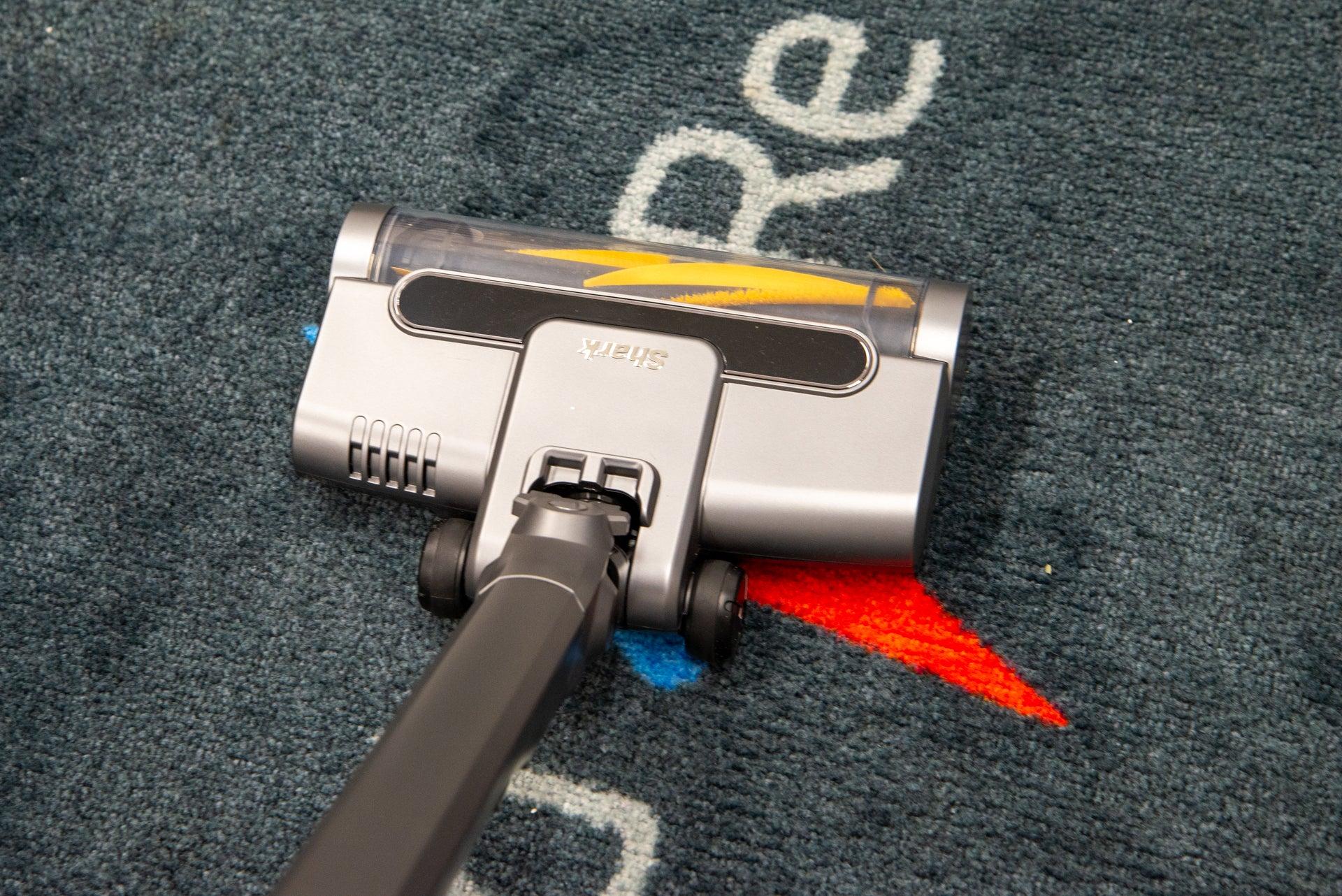 Shark WandVac System cleaning carpet