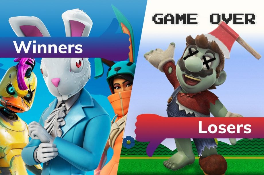 Winners and Losers Fortnite Switch Day Mario Died