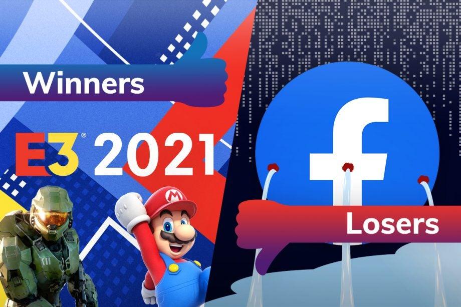 Winners and Losers E3 2021 Facebook data leak