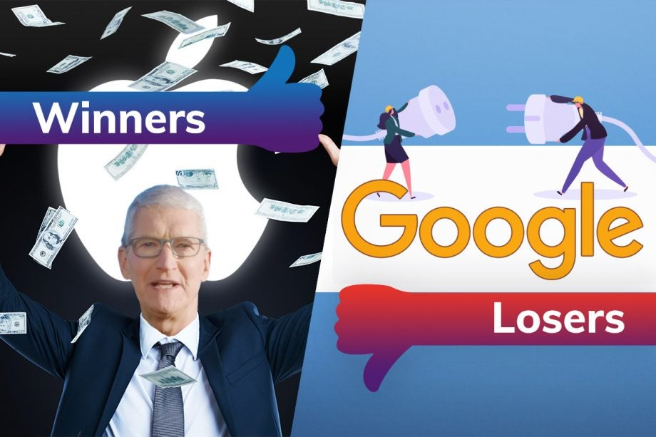 Winners and Losers Apple Google