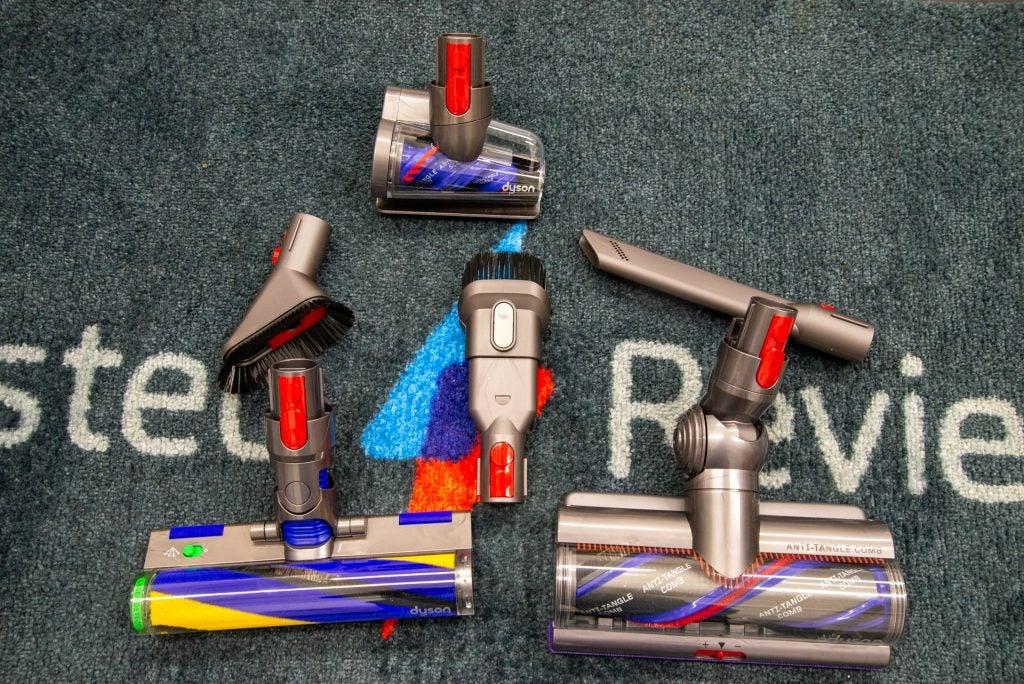 Dyson V15 Detect accessories