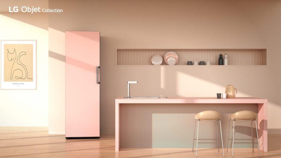 LG Objet Collection fridge freezer