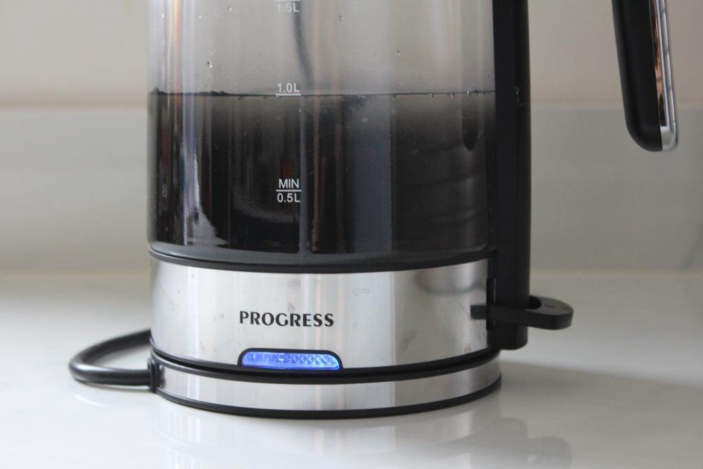 Progress EK3891PBLK Ombre Glass Kettle