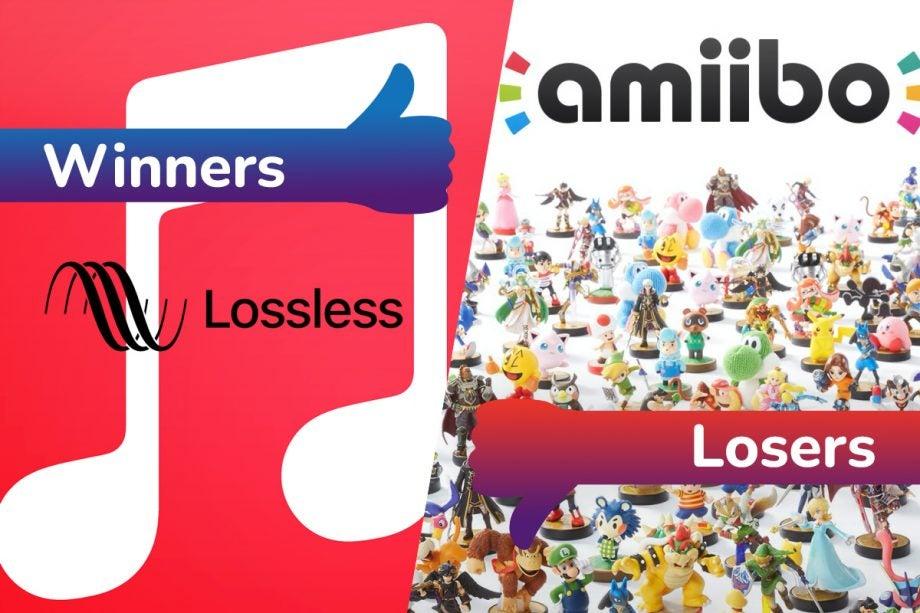 Winners and Losers Apple Lossless Nintendo Amiibo