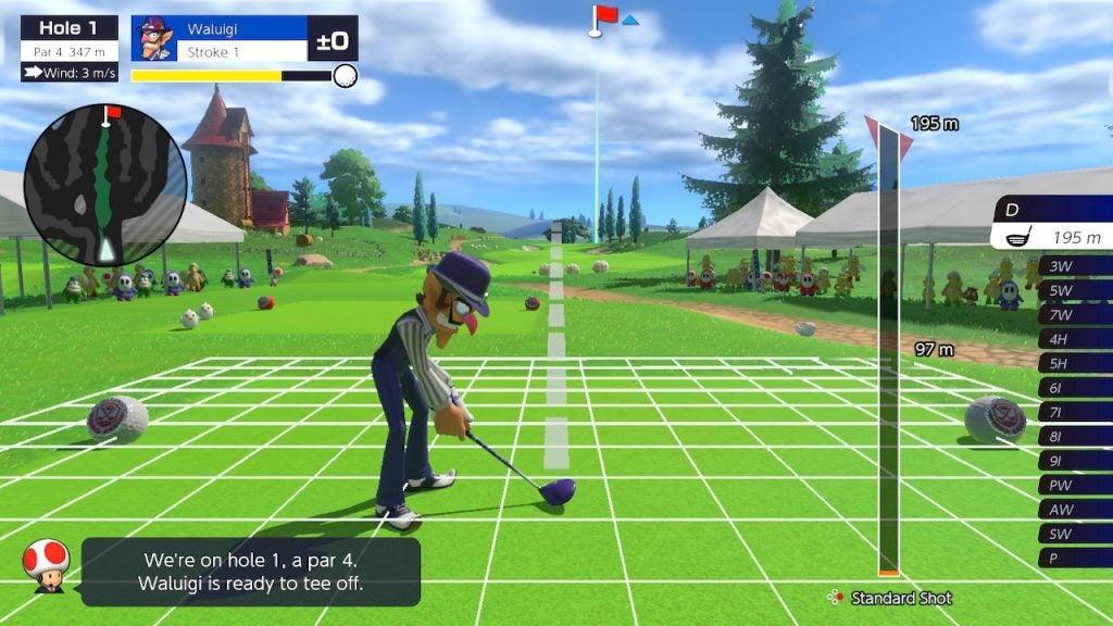 Hands on: Mario Golf: Super Rush