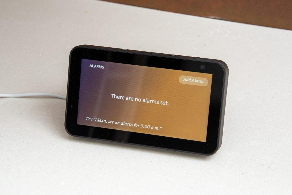 Alarmas de Amazon Echo Show 5 (2.a generación)